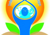 Yoga poses for International Day of Yoga logo