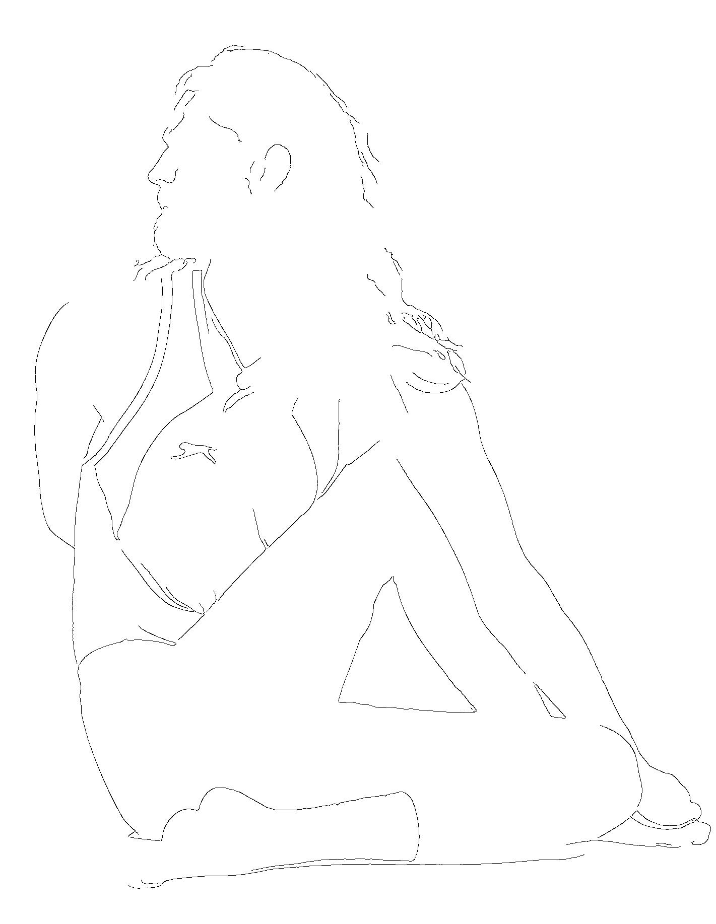 full spinal twist pose