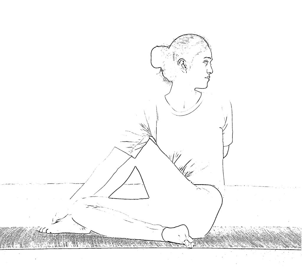 How To Do Full Spinal Twist Pose (Purna Matsyendrasana), Benefits and Precautions